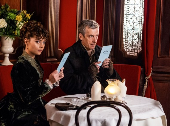 Jenna-Louise-Coleman-Peter-Capaldi-Doctor-Who-Deep-Breath-570x422