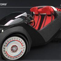 Srati : la voiture imprimée en 3D avec un moteur Renault