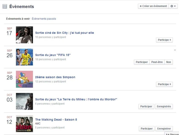 printscreen evenement facebook