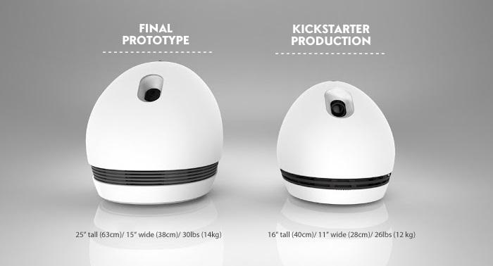 Keecker, le robot français lancé aujourd'hui sur Kickstarter