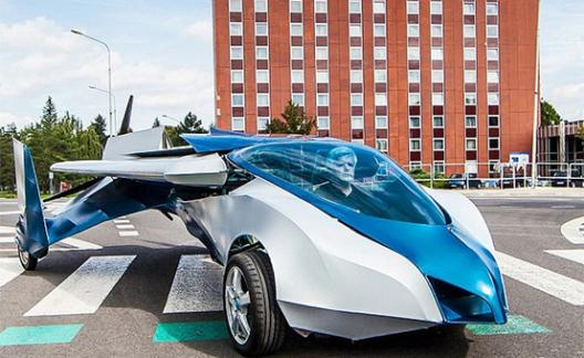 Voici la première voiture volante conçue pour le grand public