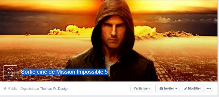 facebook event mission impossible 5