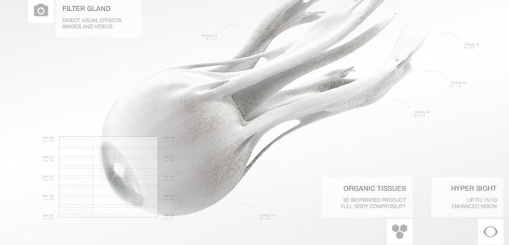Œil bionique ©EYE / MHOX