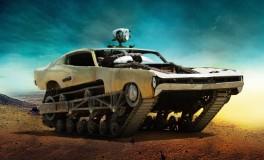 """Les bolides de """"Mad Max : Fury Road"""" Peacemaker - Mi-voiture, mi-char d'assaut, soit le genre de véhicule qu'affectionnerait James Bond."""