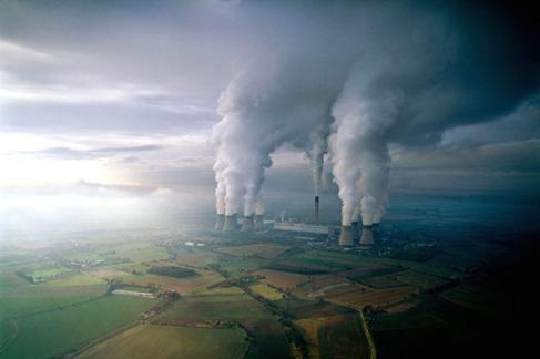 Des usines de charbon en Grande-Bretagne par Jason Hawkes