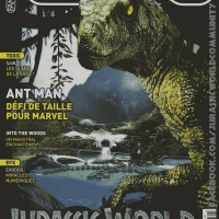 Jurassic World : Le film en couverture de L'Ecran Fantastique
