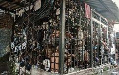 Une prison surpeuplée au Salvador