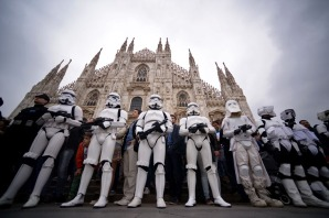 TOPSHOTS-ITALY-ENTERTAINMENT-CINEMA-STAR WARS
