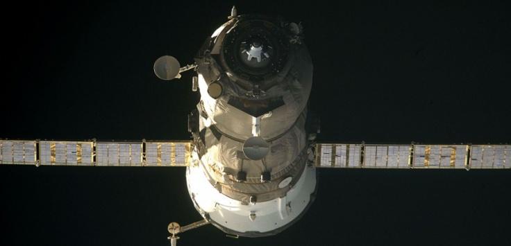 Un cargo Progress russe le 30 juin 2009 ©HO / NASA / AFP