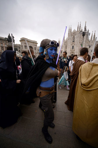 ITALY-ENTERTAINMENT-CINEMA-STAR WARS