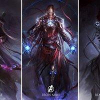 Les Avengers en mode Heroic Fantasy
