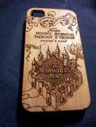 Une coque en bois Harry Potter