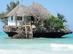 The Rock, Zanzibar, Afrique