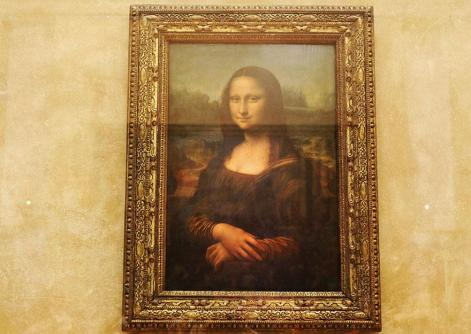 12. Mona Lisa / Musée du Louvre